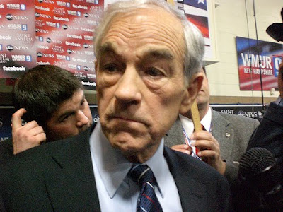 a spaced out Ron Paul