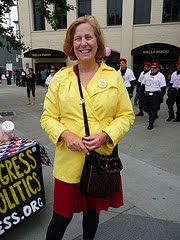 Cindy Sheehan at SF Gay Pride