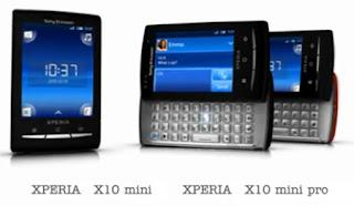 Sony Ericsson, Xperia X10Mini, Xperia X10 Mini Pro, Qwerty, Android