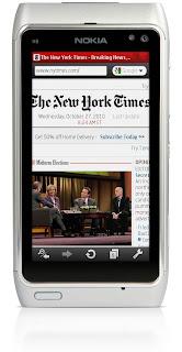 Opera Mini N8, Nokia N8 Symbian ^3