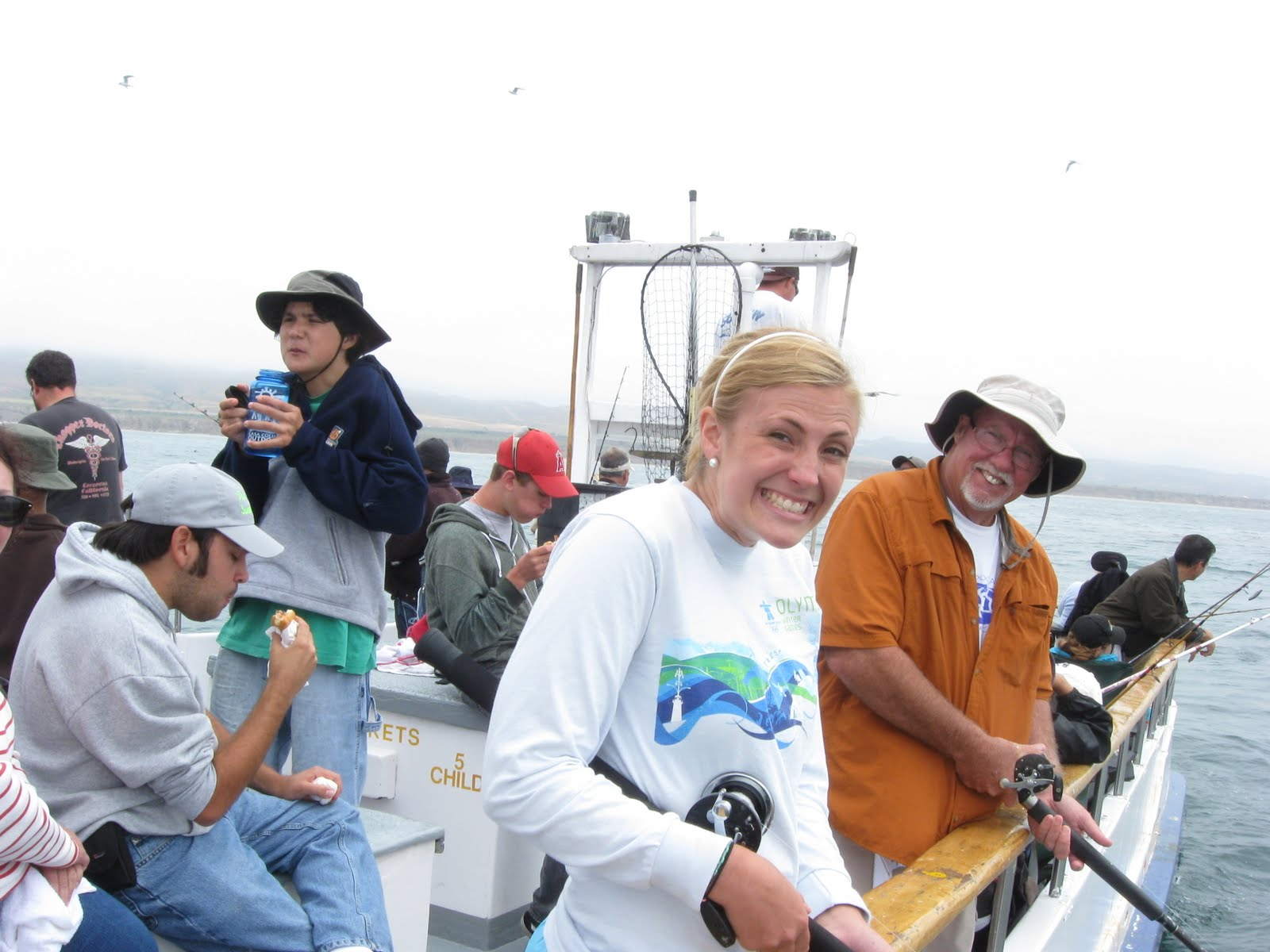 My life in words eleven hours counting for Deep sea fishing dana point