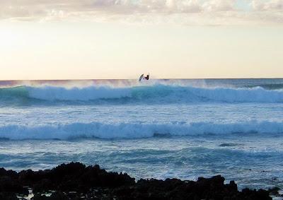 Big Island Hawaii Surfer