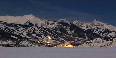 Snowmass Colorado At Night