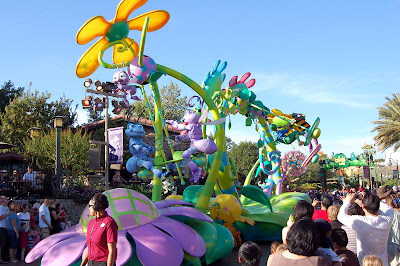 Pixar's A Bugs Life Parade Float