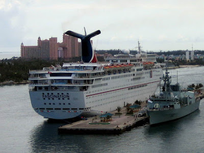 Carnival Fascination Cruise Ship In Nassau