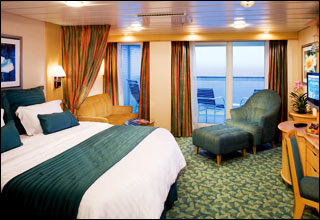 Junior Suite On Oasis Of The Seas