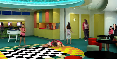 Oasis of the Seas Adventure Ocean Kids Area
