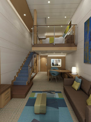 Deluxe Loft Stateroom On Allure Of The Seas