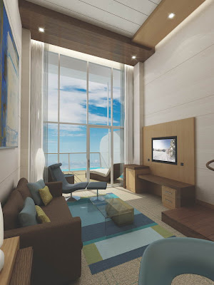 Loft Suite Living Area On Oasis Of The Seas