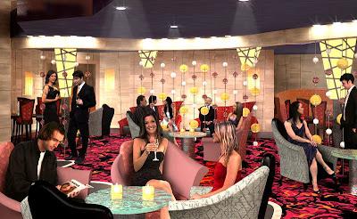 Blaze Nightclub On Oasis Of The Seas