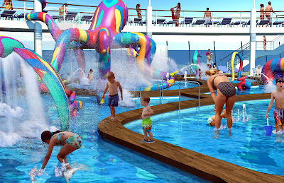 Kids Water Park On Oasis Of The Seas