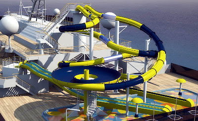 Carnival Dream Waterslides