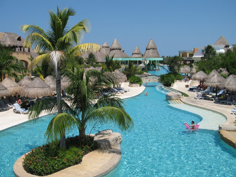 Pool photos best pools at mexico all inclusive resorts for Pool design resort