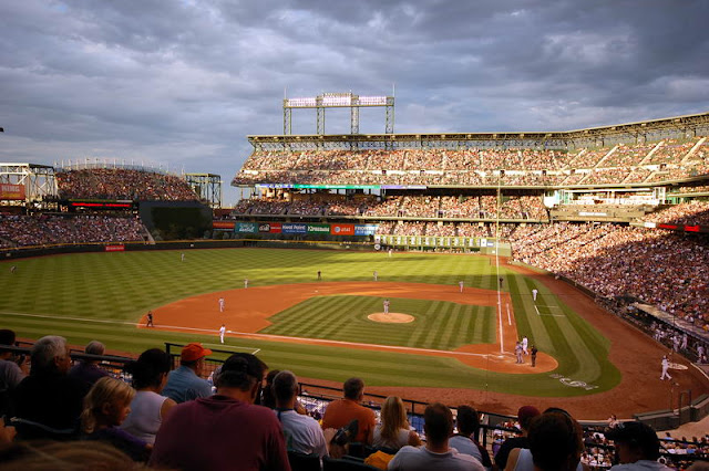 Coors Field During Colorado Rockies Game