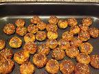 Chiftele cu susan la cuptor preparare reteta