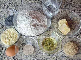 Biscuiti crocanti sarati Ingrediente reteta