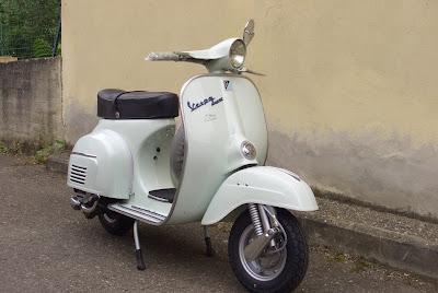 vespa 125 del 1965