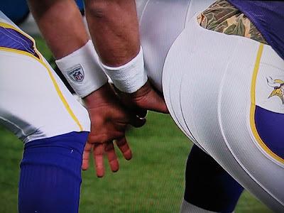 Ass butt Football quarterback
