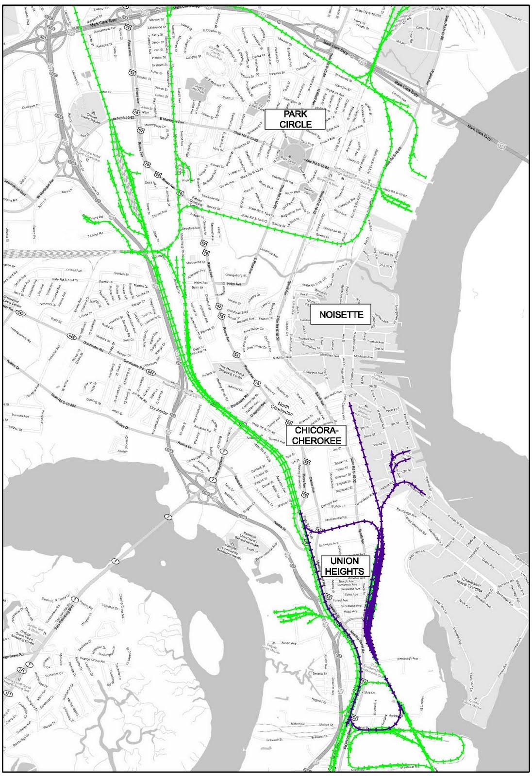 We39ve MOVED North Charleston Rail Plan Maps