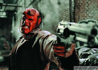 Movie poster of hellboy ii the golden army that will be coming soon to