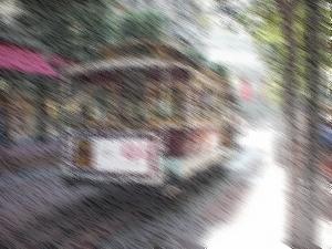 Java2DとJava Image Filtersで手書き風に変換した画像
