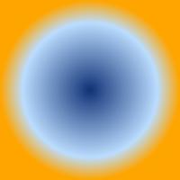 pycairoで描画した放射グラデーション