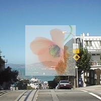 pycairoで半透明に重ね合わせた画像
