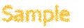 im4javaでクレヨン風に描画した文字列