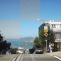 Imagickで画像を分割してランダムに彩度を変えた画像