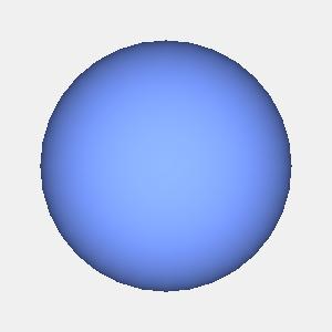JOGLで描画した球