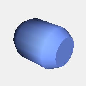 groovyとJOGLで描画した樽の形