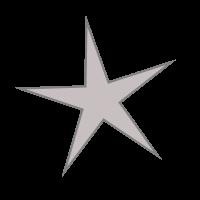 GfxBuilderで描画した星