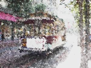 ImageMagickで絵画調に加工した画像
