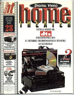 Giornali e riviste rivista home theatre cinema in casa for Giornali arredamento casa