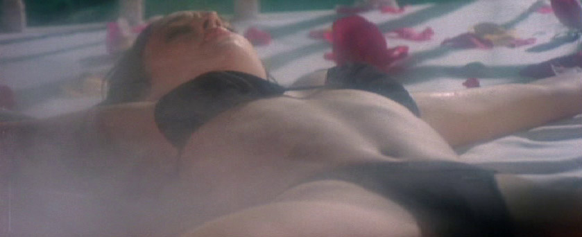 Bondage distress in lady movie
