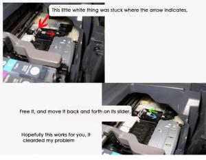 Solution Canon Pixma IP4300 Error 6A00