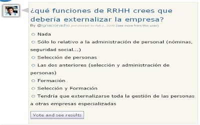 ¿Externalizarías el departamento de RRHH?