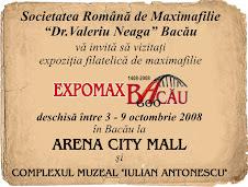 Invitatie la un festival filatelic în Bacãu