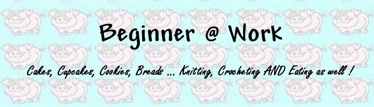 Beginner @ Work !!