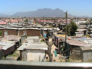 The Black Township of Langa, Cape Town, South Africa