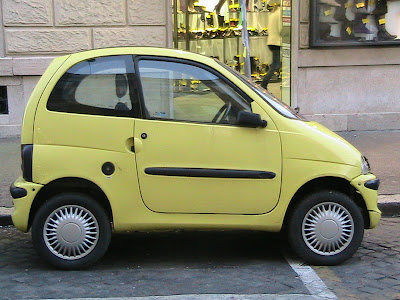 Micro Cars in Rome and We Begin the Vatican Tour