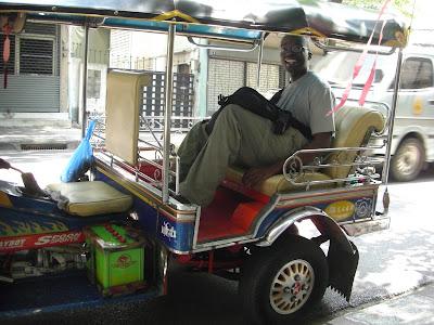 Ride In A Bangkok Tuk Tuk With Me!