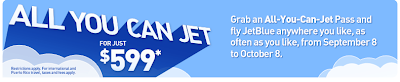 jetbluebanner An All You Can Fly Ticket   JetBlues Got A Deal For You