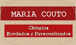 Maria Couto: Chinelos Bordados