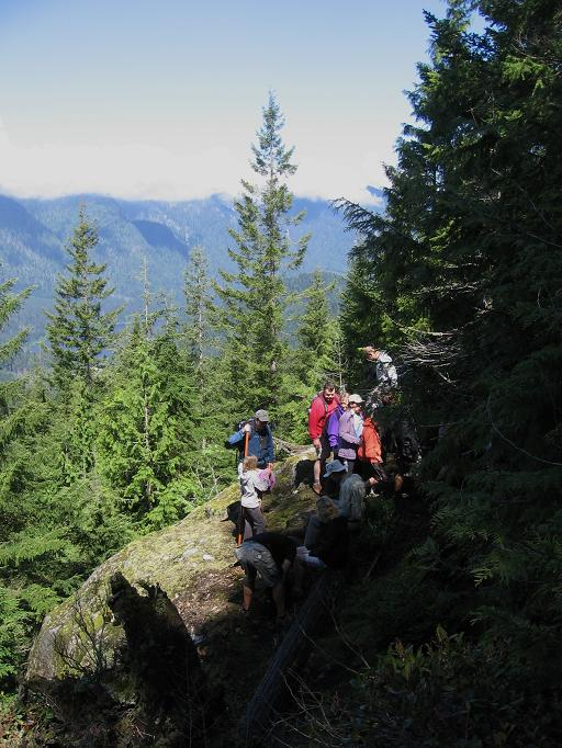 viewpoint near Coho Creek