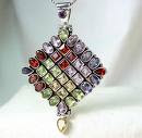 Gemstone Sterling Silver Pendant Jewellery