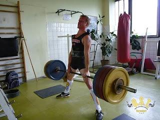 Daniel Pianka - mrtvý tah 195kg
