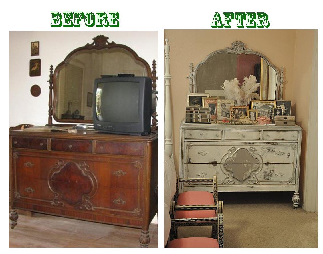 Реставрация мебели своими руками фото до и после