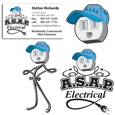 Steven lacey portfolio asap electrical logo and business card asap electrical logo and business card colourmoves