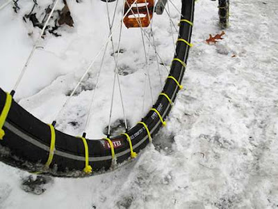 Zip Tie Snow Tires Seen On  www.coolpicturegallery.us